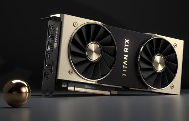 Overclocked NVIDIA Titan RTX Obliterates 3DMark Fire Strike