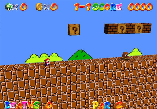 Modder Recreates Super Mario Bros In Super Mario 64 And You Can Play