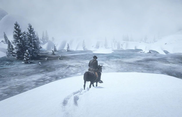 Here's Where To Find A Hidden Red Dead Redemption 2 Winter