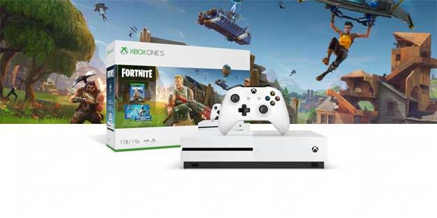 Epic Games Responds Quickly To Customers Over Misleading Xbox One S Fortnite Bundle Hothardware The fortnite video game is a purely digital title, meaning you'll need to download it fully from the xbox one's online storefront. misleading xbox one s fortnite bundle
