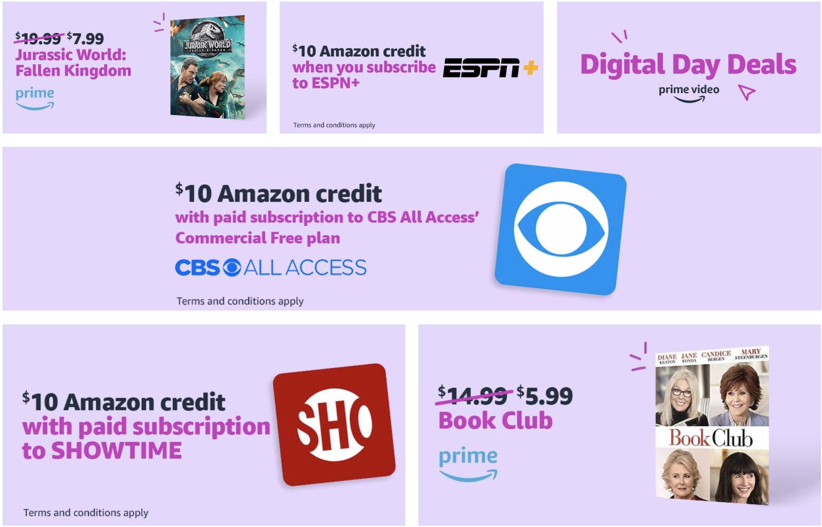 Amazon Digital Day Starts Today With Hot Deals On eBooks, Games, And Movies