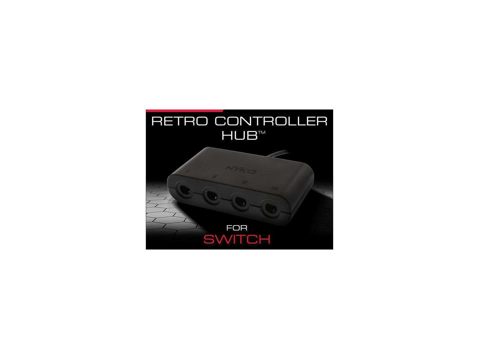 Nyko Releases Nintendo Switch 4-Port Retro Hub For GameCube