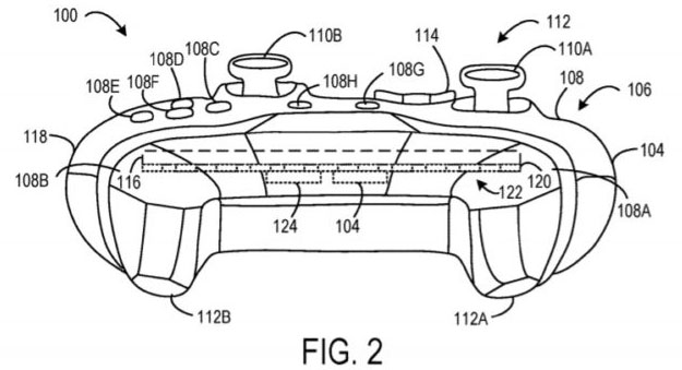 Microsoft Controller Patent