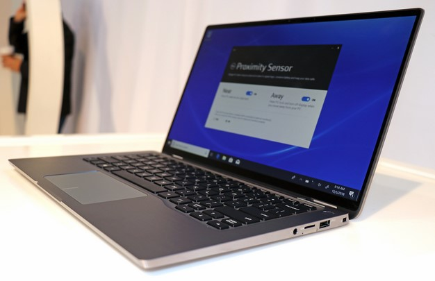 dell latitude 7400 right
