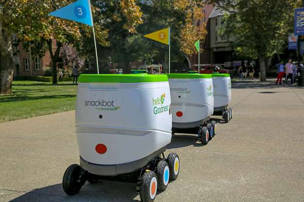 pepsico robby technologies college snackbot