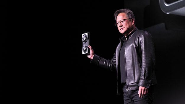 Jensen Holding GeForce RTX 2060 2