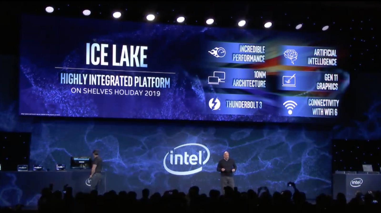 Intel Shows Off 10nm Ice Lake, Confirms Systems On Track For Holiday 2019 Debut