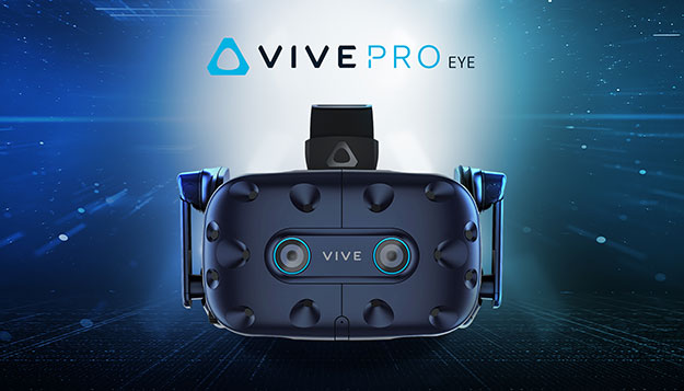 HTC Announces Vive Pro Eye With Eye-Tracking And Wire-Free Cosmos VR