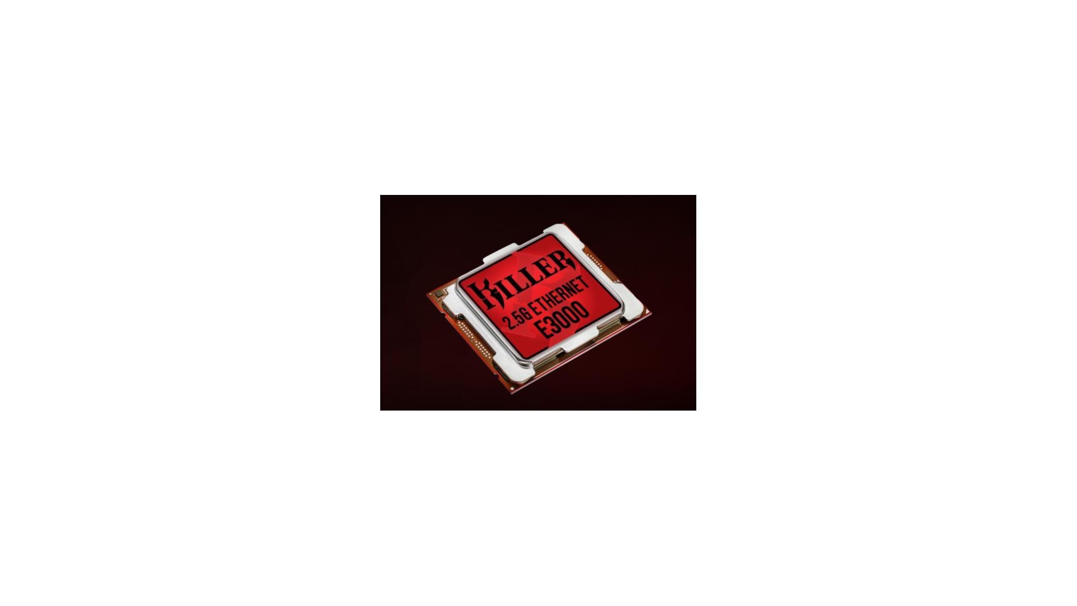 Rivet Networks Unwraps Killer E3000 2 5 Gbps Ethernet Controller For