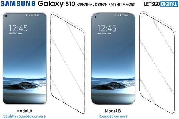 Samsung Galaxy S10 Patent