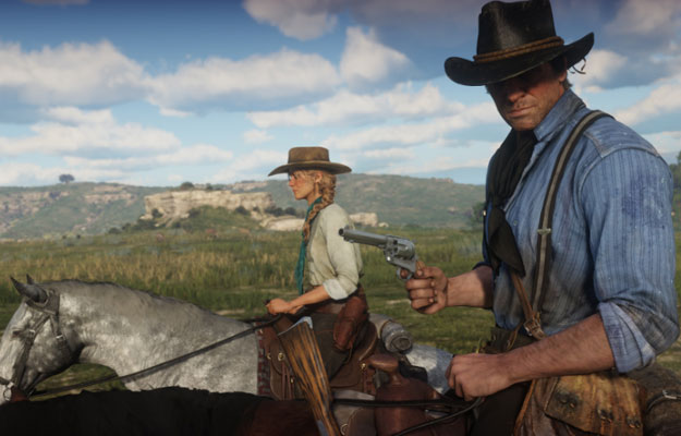 red dead redemption 2 in game