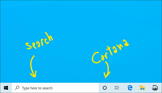 Search and Cortana