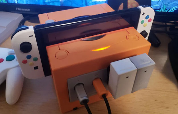 This Awesome Nintendo Switch Dock Is A Modded GameCube With