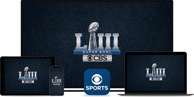 CBS Super Bowl Devices
