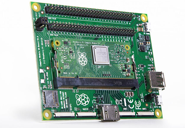 Raspberry Pi Compute Module IO board