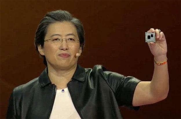Dr. Lisa Su with Ryzen 3000