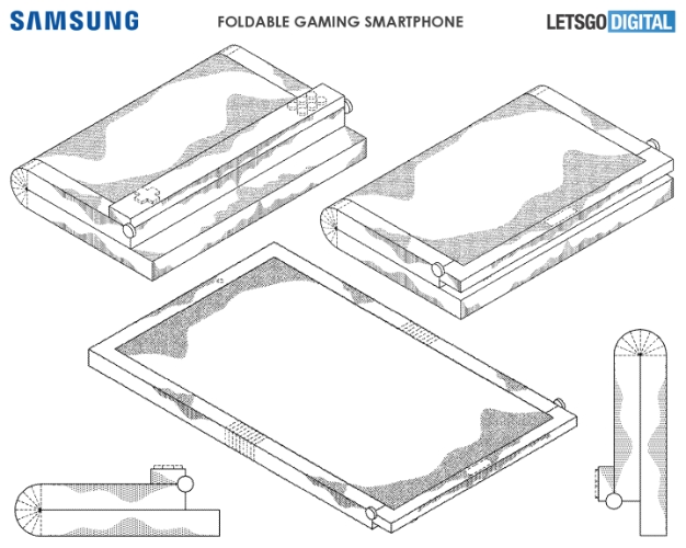 samsung gaming folding phone 2