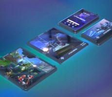 Samsung Galaxy F Foldable Gaming Phone Patent Reveals Trick Rotating Game Controller