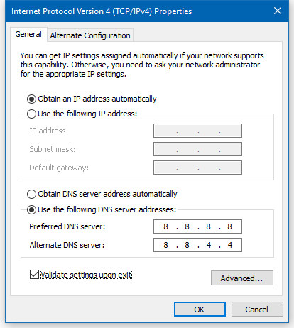 Google DNS Settings For Google Public DNS