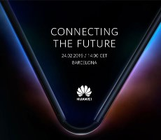 Huawei Teases 5G Foldable Phone For February 24th Reveal