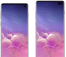 Official Samsung Galaxy S10 And S10+ Renders Highlight Punch Hole Display And Triple Rear Cameras