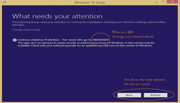 windows 10 setup error