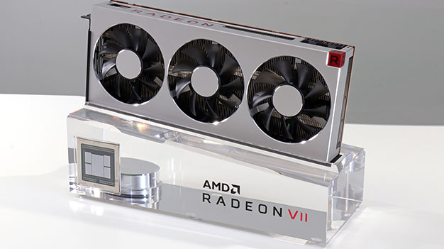 radeon vii card side view