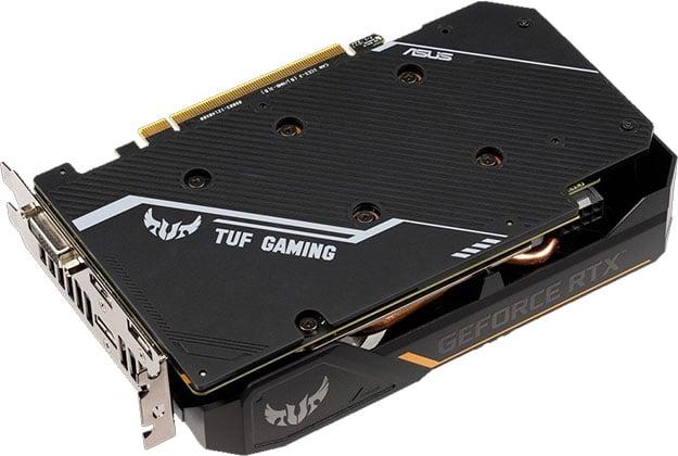 ASUS TUF GeForce RTX 2060 OC Edition Back