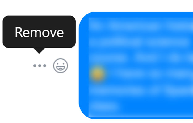 facebook messenger remove desktop