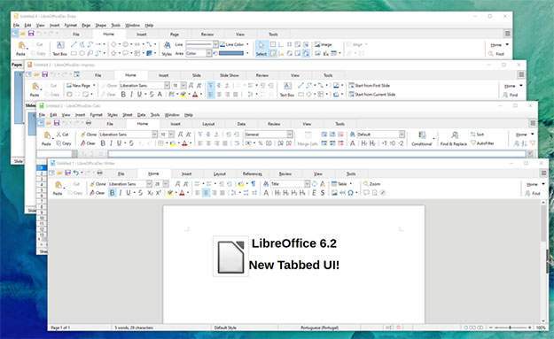 LibreOffice 6 2 Released With Tasty New User Interface Based