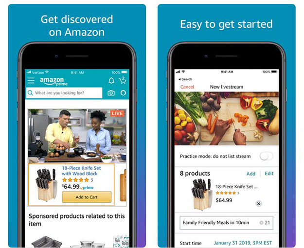 Amazon Live Is An Online Shopping Game-Changer Allowing
