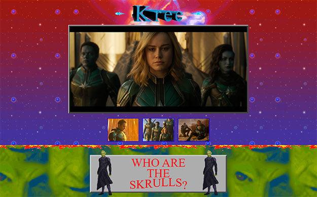 Captain Marvel Kree