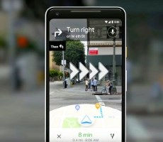 Here's Google Maps AR Navigation Guiding You With Overlays On Real World Streets