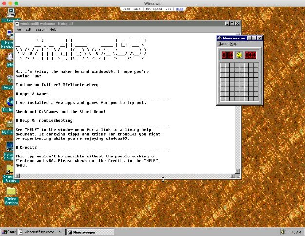 You Can Now Download And Run Windows 95 V20 With Integrated Doom