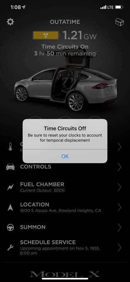 From There The Movie References Continue To Pour Out As Your Charging Screen Is Modified Say Fuel Chamber While Location Of Vehicle