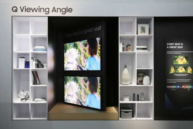 samsung qled viewing angle