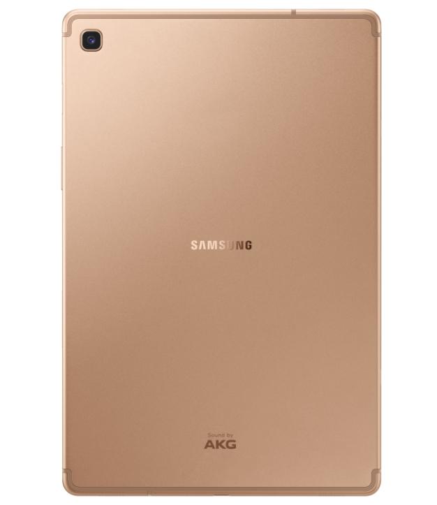 Galaxy Tab S5e SM T725 002 Back Gold