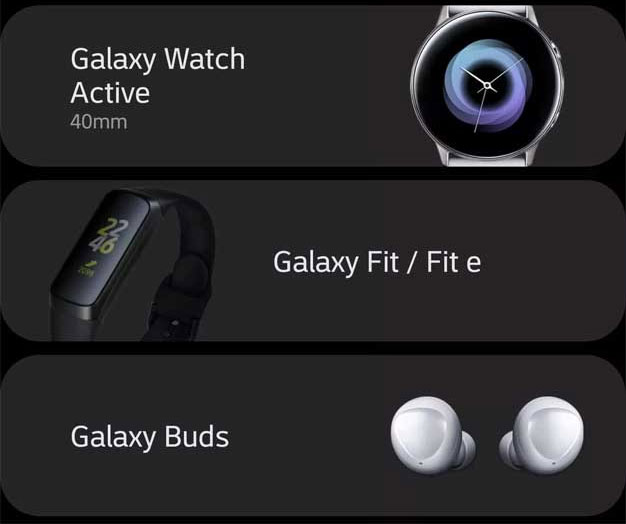 Galaxy Devices
