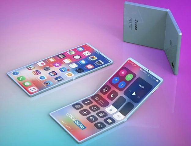 Folding iPhone Renders