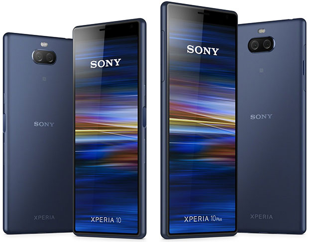 Sony Xperia 10 and Xperia 10 Plus