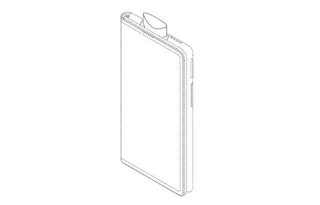 oppo foldable phone pop up camera