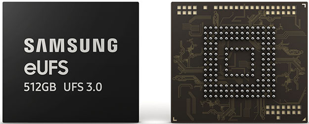 Samsung eUFS 3.0 512GB