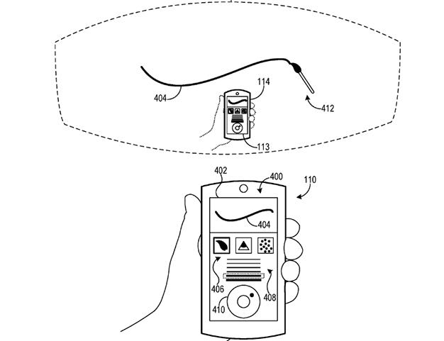 Microsoft Patent AR Smartphone