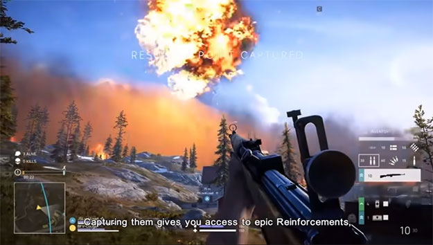 Battlefield V Firestorm Battle Royale mode first look