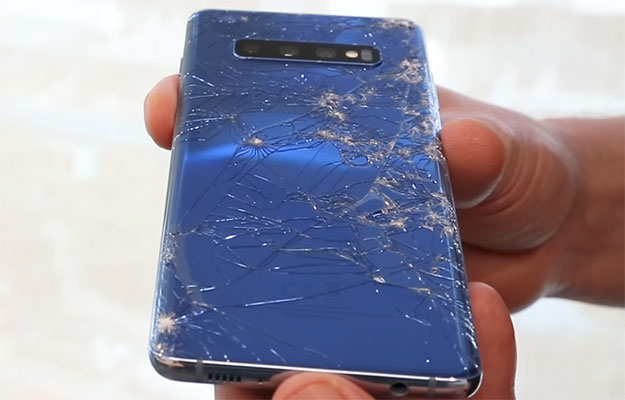 squaretrade shattered samsung galaxy s10+