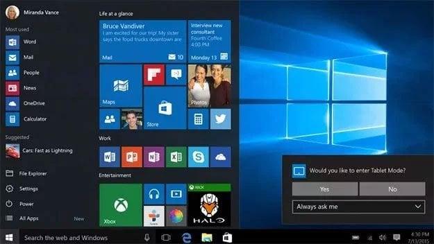 Microsoft Patches Windows 10 To Fix Performance Robbing Cumulative