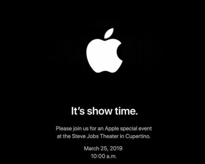 apple march 25 invitation streaming