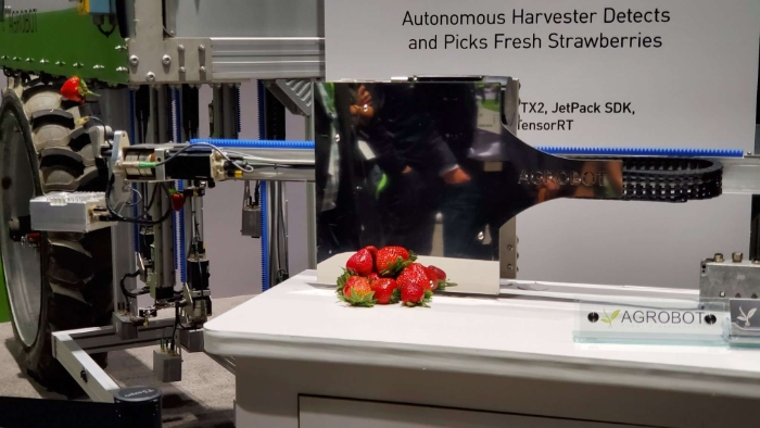 NVIDIA Powered Robots Of GTC Will Deliver Your Dinner, Pick