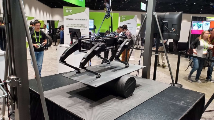 0ed962335b7b NVIDIA Powered Robots Of GTC Will Deliver Your Dinner