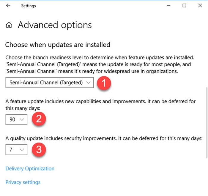 windows 10 april update delay